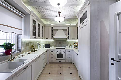 Illuminate your kitchen to provide proper lighting to host friends and family